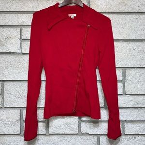 Cache Red Sweater